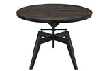 Charlie Wood Top Coffee Table in Black
