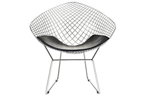 Keegan Upholsterd Vinil Lounge Chair
