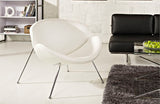 Jeffrey Upholsterd Vinil Lounge Chair