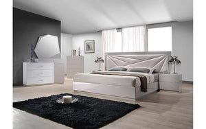 Florence White Bedroom Set