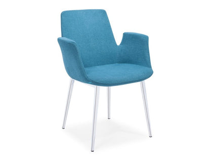 Cohen Upholsterd Chair Blue Buy 249 In A Modern Furniture Store