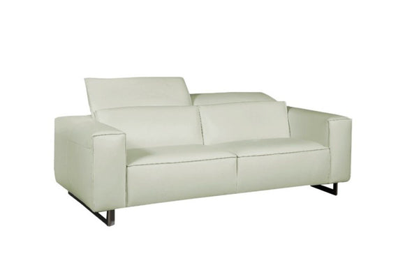 Giadia Modern Leather Loveseat