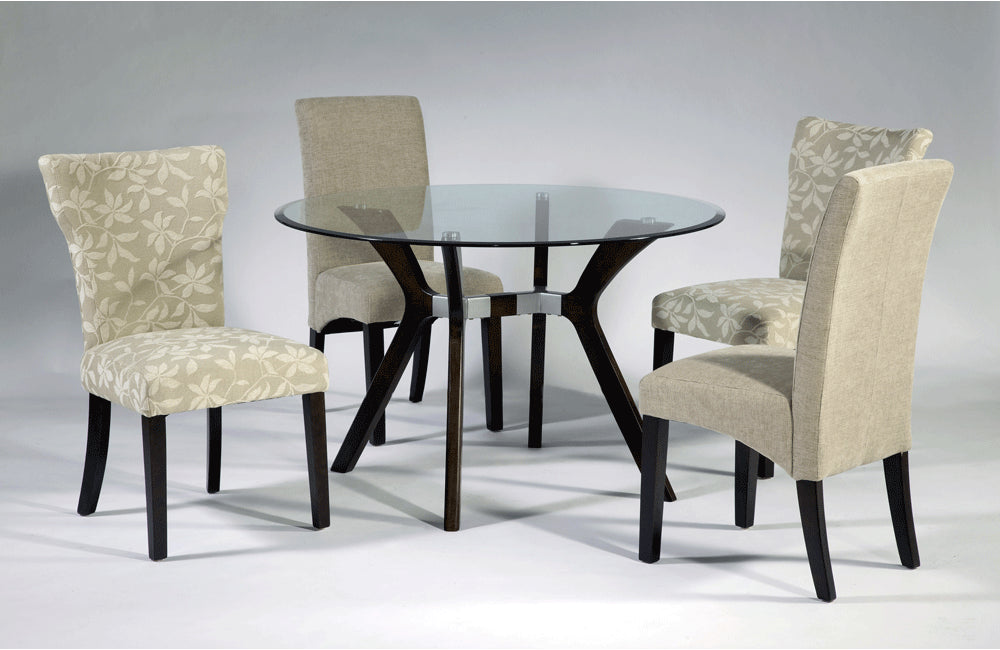 Drago Round 5 Pc Dining Set Table With Gabbie Chairs Buy