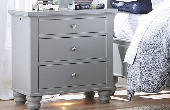 Cambridge Liv360 Nightstand Gray