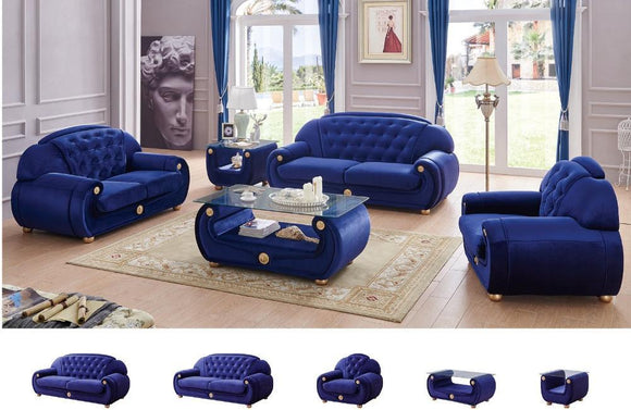 Eden Modern Fabric Sofa Set