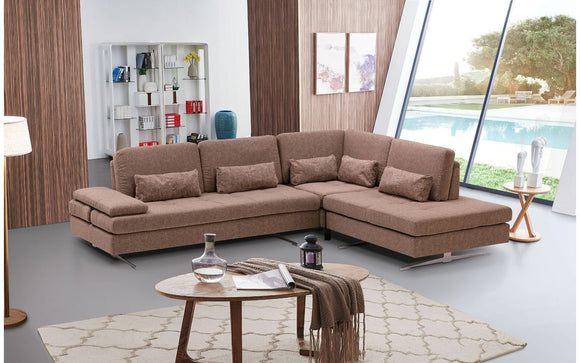 Colombo Fabric Sectional Sofa
