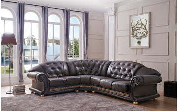 Apolo Brown Sectional Sofa