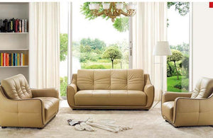 Daniela Modern Leather Sofa Set