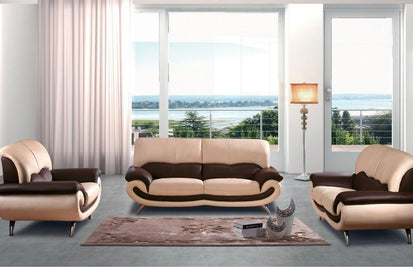 27 Modern Leather Sofa Set (One Sofa / Loveseat / Chair)-Buy ...