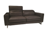 Lucia Modern Leather Loveseat