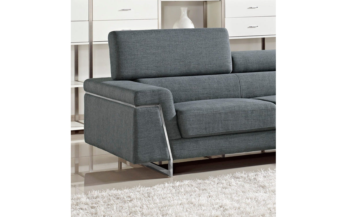Darby Modern Fabric Sectional Sofa Set -Buy ($1840) in a modern ...