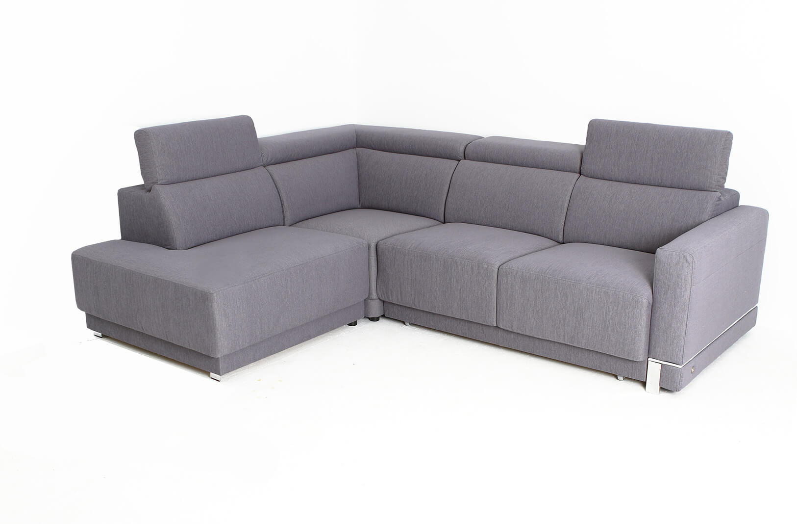 Marburg Gray Sectional With Sofa Bed And Storage 9252 Left Facing Chaise Buy 3399 In A Modern Furniture Store Fairfield Nj Casa Eleganza Furniture Mattress