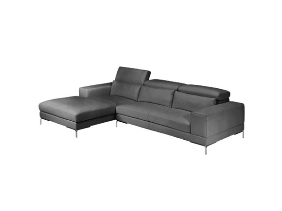 Colby Modern Leather Sectional Sofa