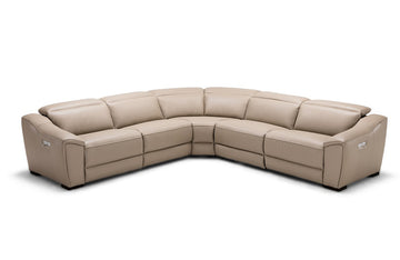 Milan Tan Motion Sectional Sofa