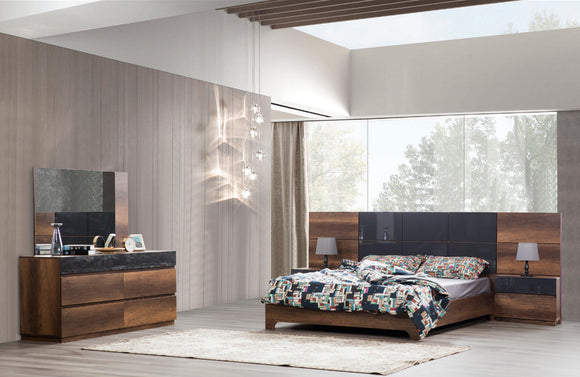 Vigo Modern Platform Bedroom Set