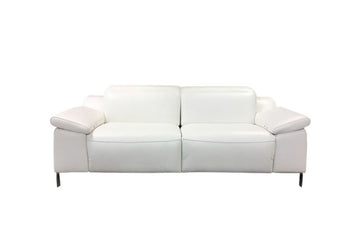 Sofia Modern Leather  Loveseat Recliner