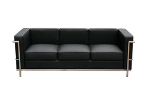 Dane Modern Italian Leather Sofa