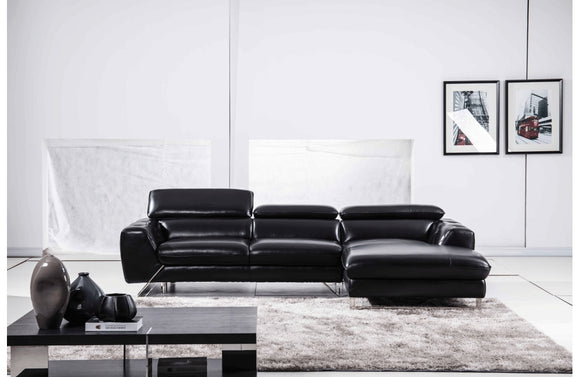 Baltsaros Sectional Sofa Black