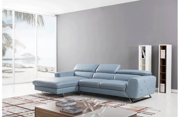 Baltsaros Sectional Sofa Blue