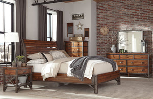 Industrial Loft Bedroom Set