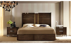 ALF Soprano Italian Modern Bedroom Set With Storage Drawer