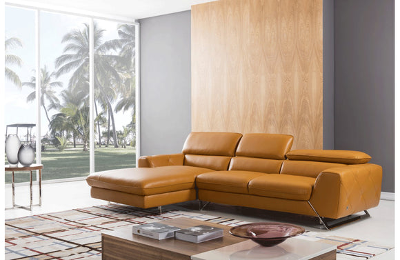 Baltsaros Sectional Sofa Yellow