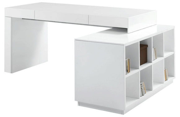 Mikaela Modern Office Desk White