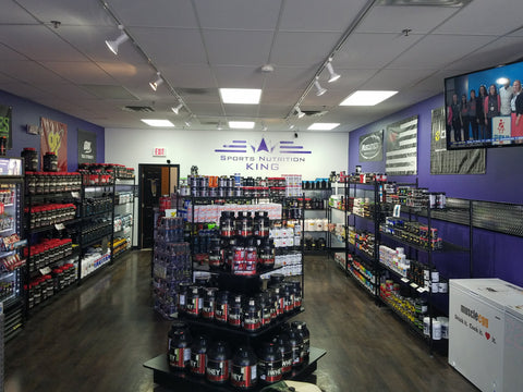 Sports Nutrition King - Inside of Store