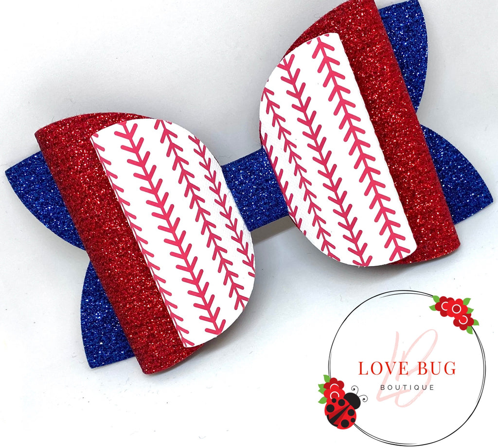 CREATE YOUR OWN - Baseball Stitches Canvas
