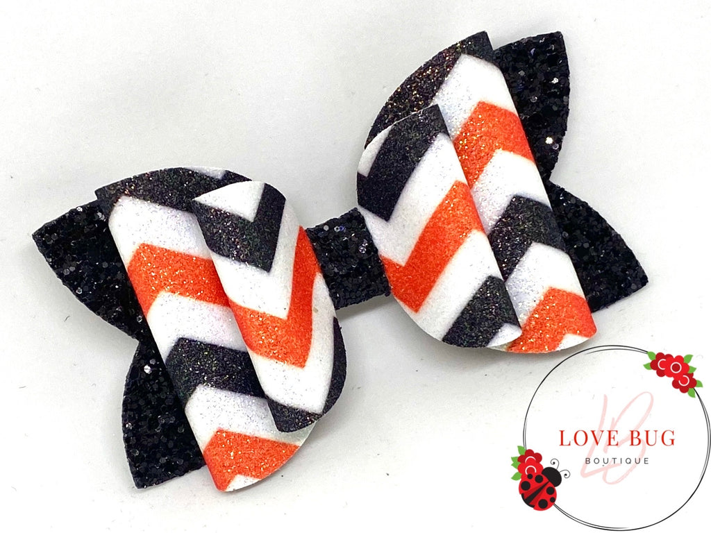 Cincinnati Bengals Chevron - Orange/Black