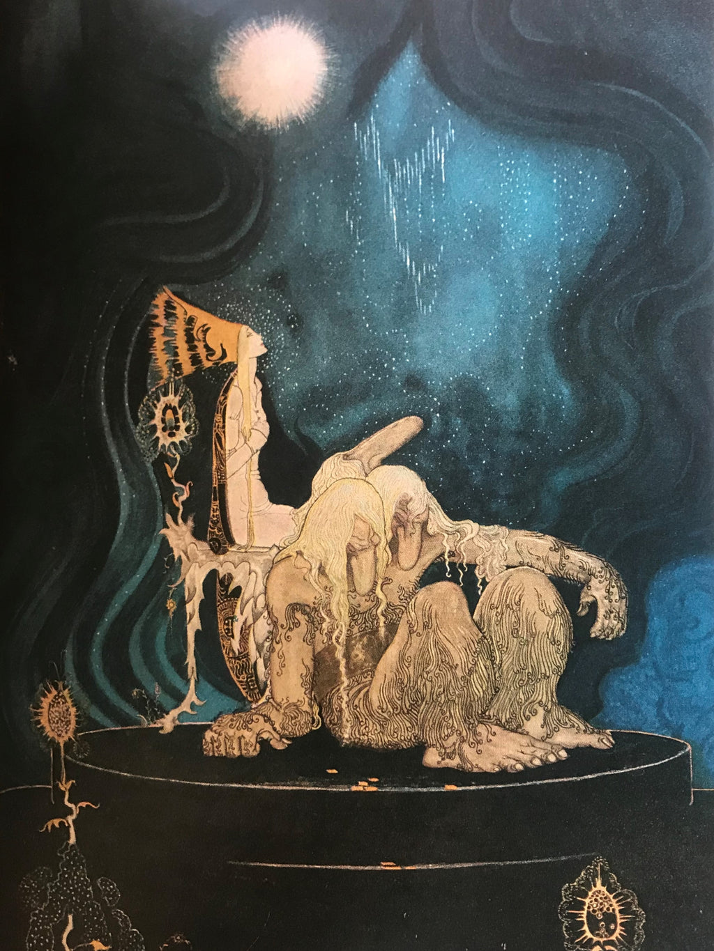 Disney Illustrator before Disney… Kay Nielsen's book East of the Sun and West of the Moon