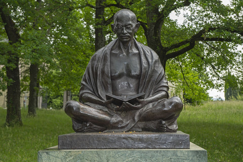how Gandhi inspired me to go gluten-free and dairy-free