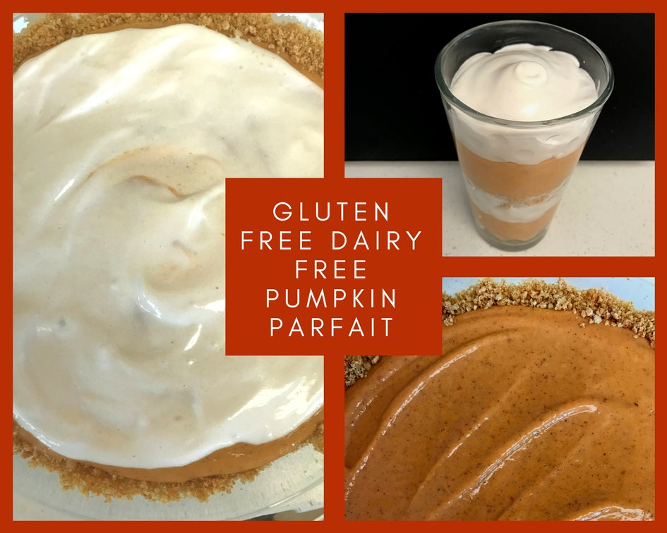 Dairy Free Pumpkin Parfait or Pie