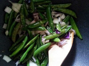 Making gluten free stir fry -- image 1