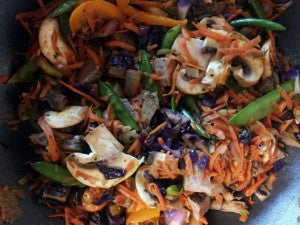 Making gluten free stir fry -- image 2