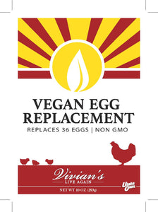Non-GMO Vegan Egg Replacer and Smoothie Boost