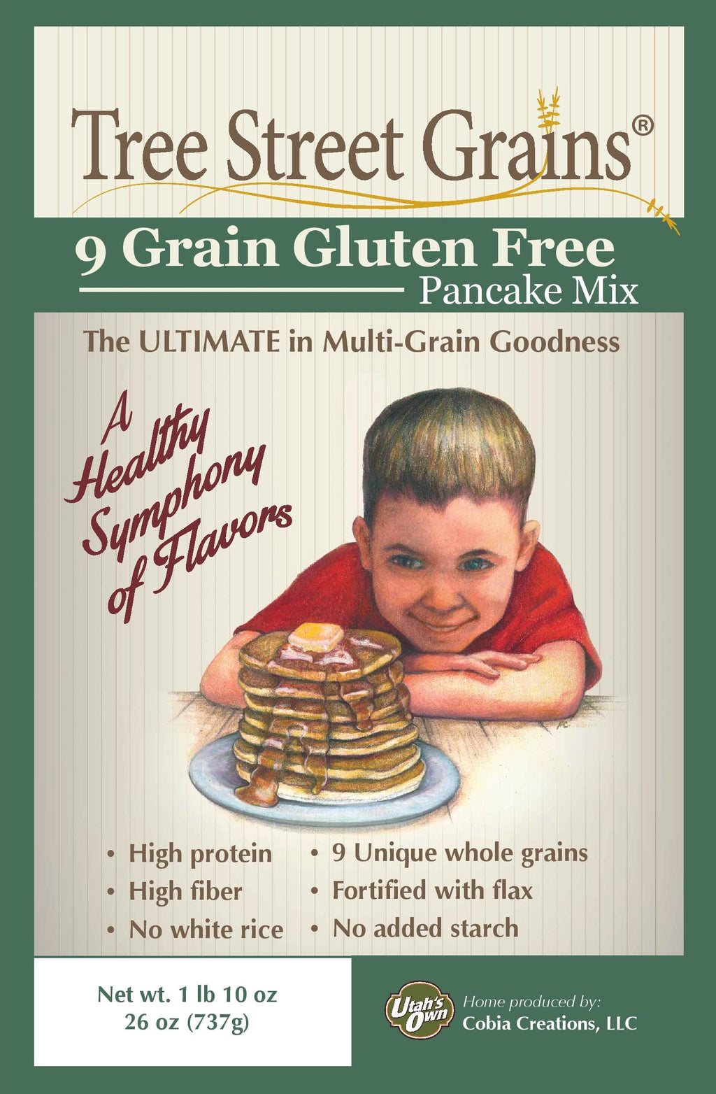 Gluten Free Whole Grain Pancake Mix