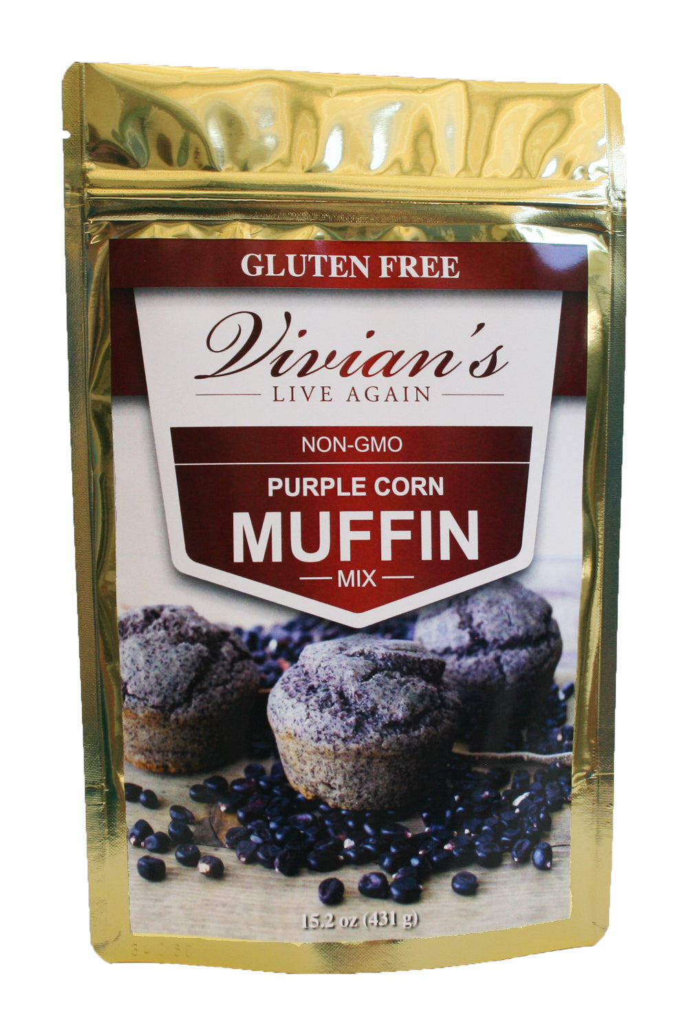 Purple Cornmeal Muffin Mix