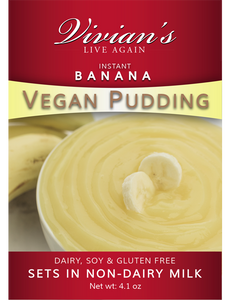 Vegan Banana Pudding