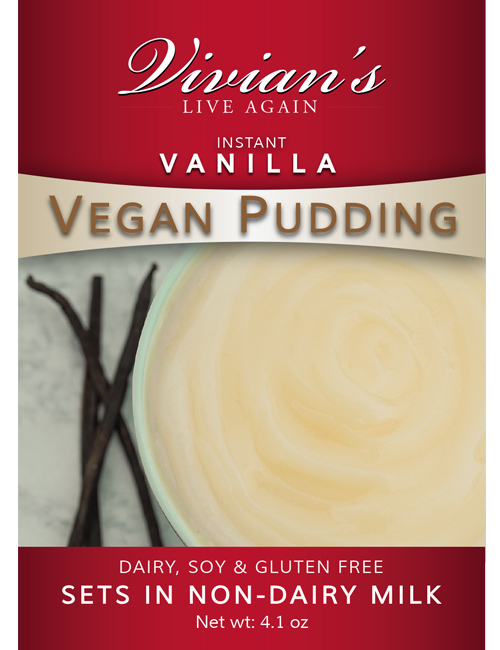 Vegan Vanilla Pudding