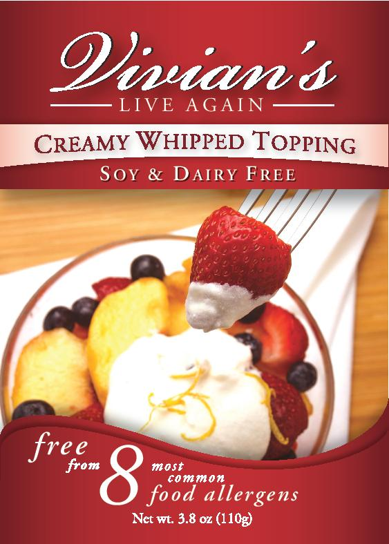 Vegan Whipped Topping Mix