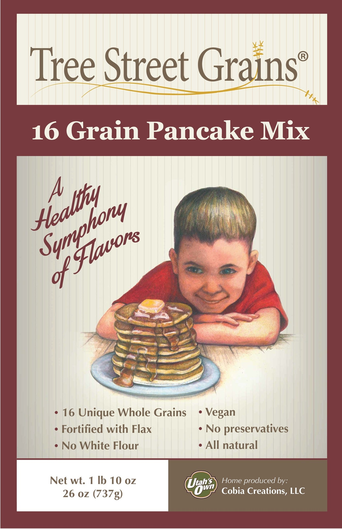 16 Grain Pancake Mix