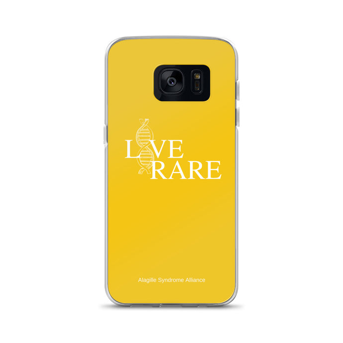 L*VE RARE Samsung Case (Yellow)