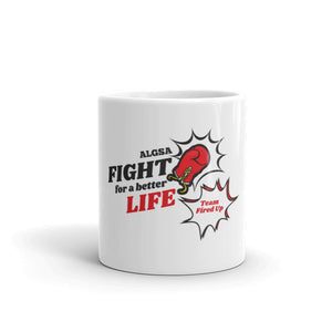 FIGHT 'Team Fired Up' Mug