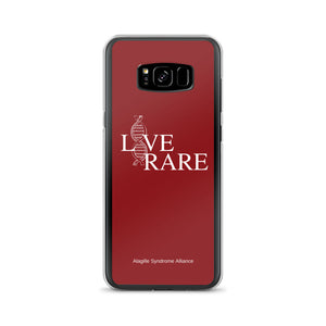 L*VE RARE Samsung Case (Red)