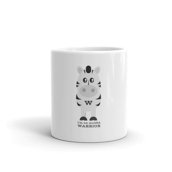 Warrior Zebra Mug