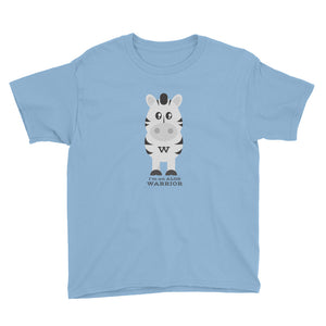 Warrior Zebra Youth Tee