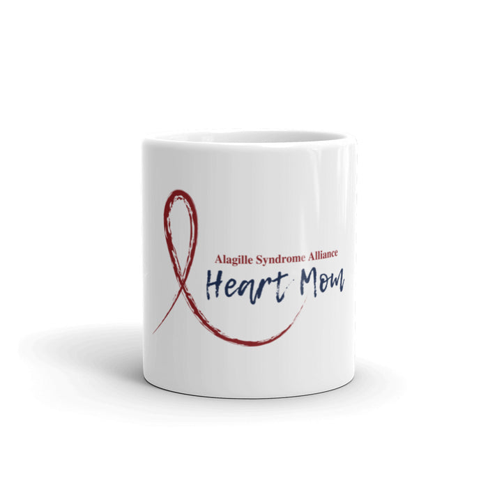 RIBBON Heart Mom Mug