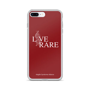 L*VE RARE iPhone Case (Red)