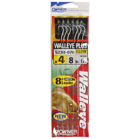 Owner Hooks Walley Plus Leader Hook